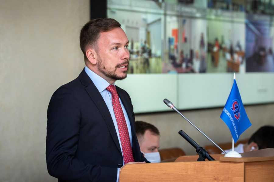 Заместитель руководителя Департамента труда и социальной защиты населения города Москвы Владимир Филиппов